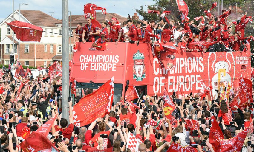 Liverpool's Champions League parade
