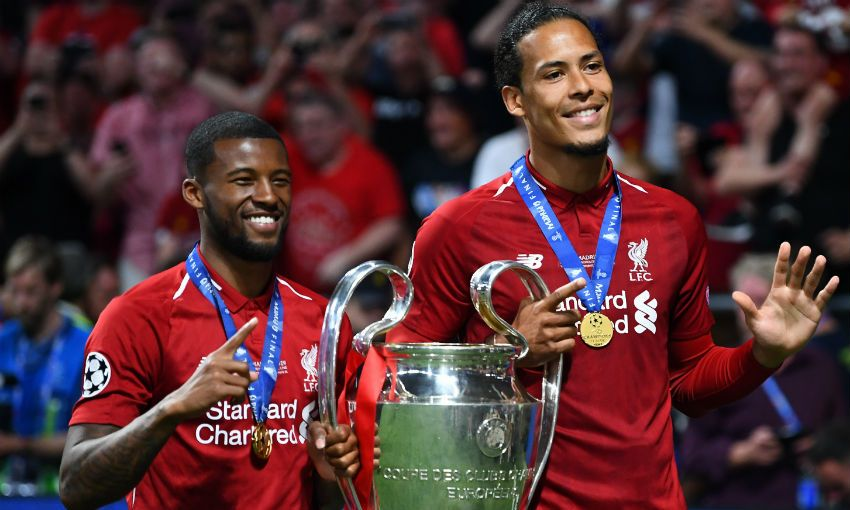 Six Reds Named In Champions League Squad Of The Season Liverpool Fc