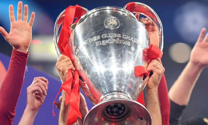 Don't miss the chance to see the European Cup at Anfield