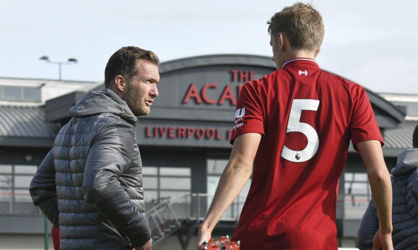 Alex Inglethorpe at Liverpool academy