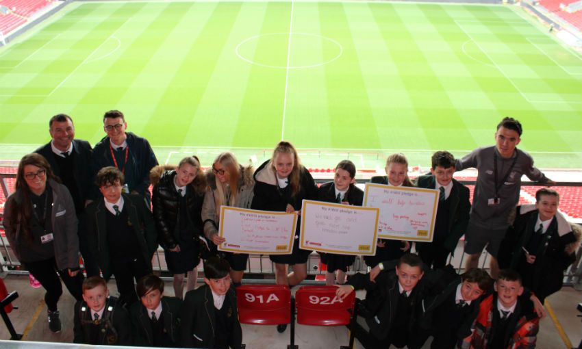 LFC Foundation supports National Youth Social Action Day