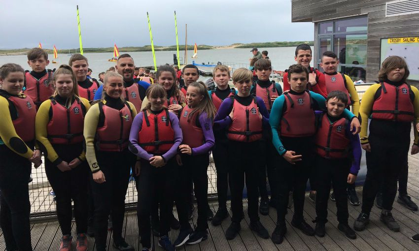 LFC Foundation participants take to the water