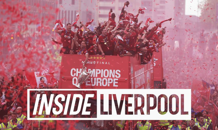 Inside Liverpool's Champions League victory parade
