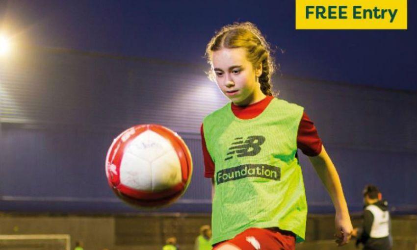 LFC Foundation girls footy