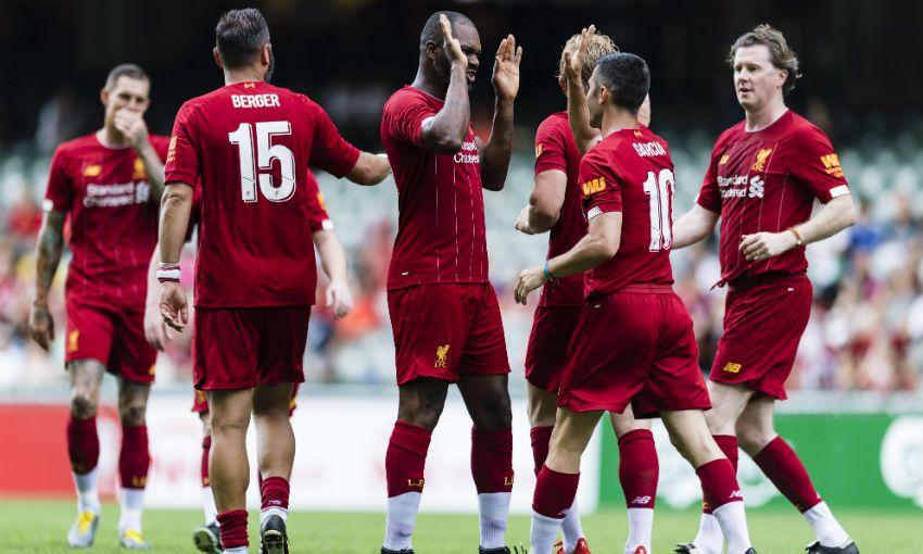 Liverpool FC Legends - Borussia Dortmund Legends 3:2 - ФК Ливерпуль