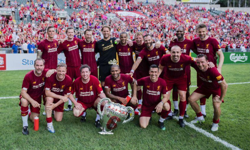 Liverpool FC Legends - Borussia Dortmund Legends 3:2 - ФК Ливерпуль  Liverpool FC Legends — Borussia Dortmund Legends 3:2 — ФК Ливерпуль thumb 88599 default news size 5