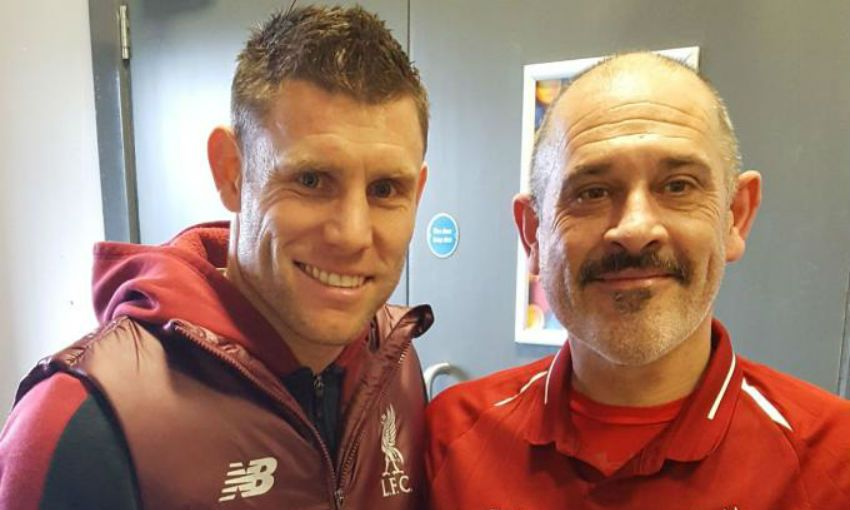 Being Red: Ste Webster - 'Finding my feet'