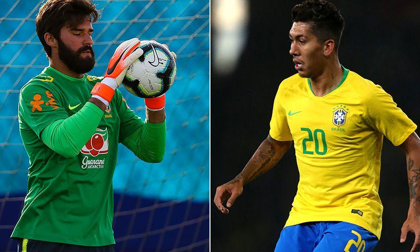 597473e9053 Alisson and Firmino ready for Copa America with Brazil - Liverpool FC