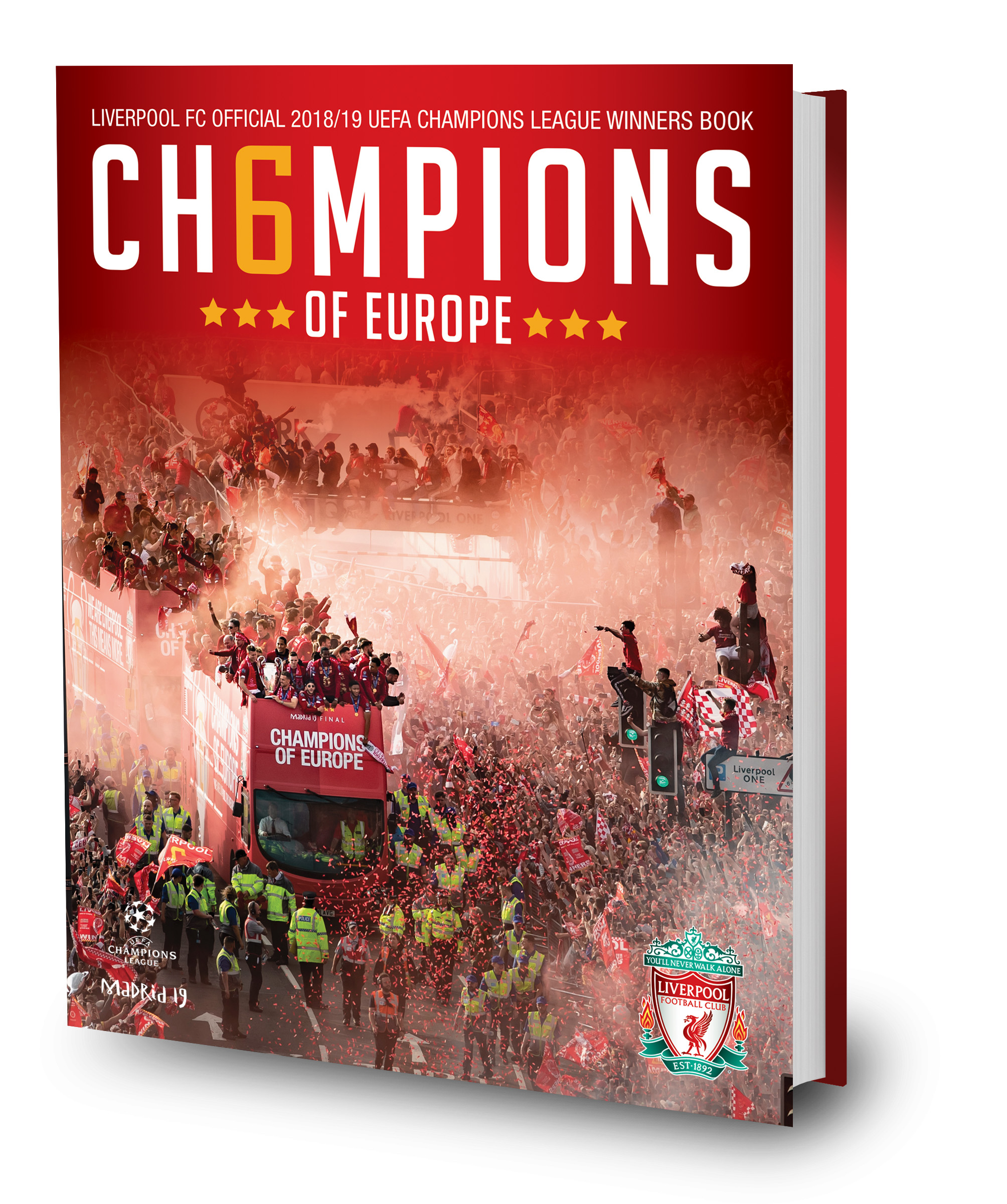 Official Ch6mpions Of Europe Souvenir Book Available To