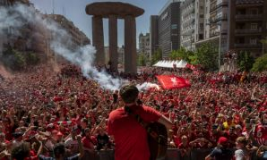 Liverpool FC fan park in Madrid, Champions League final 2019