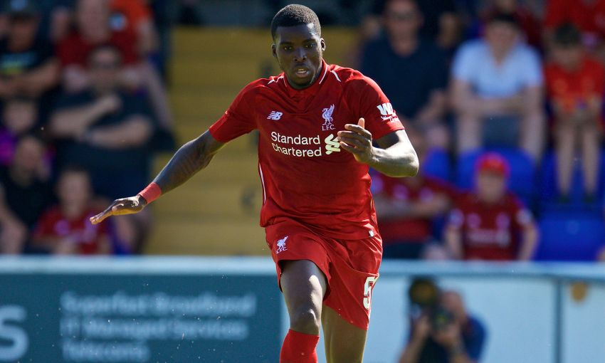 Sheyi Ojo Liverpool friendly at Chester