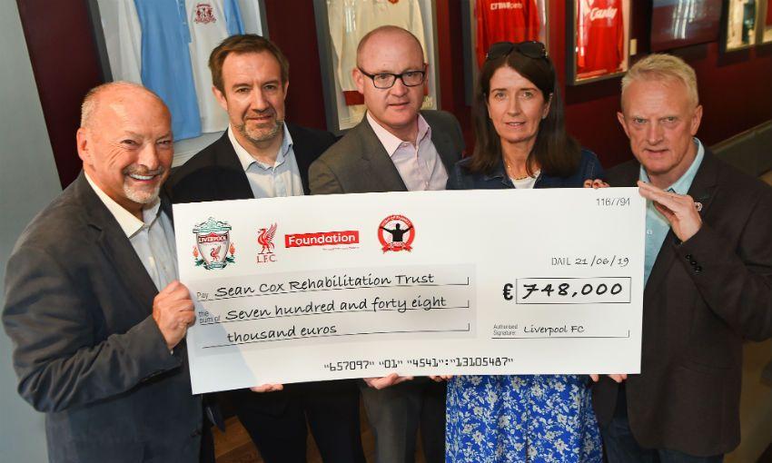 Legends charity match raises €748,000 for Seán Cox Rehabilitation Trust