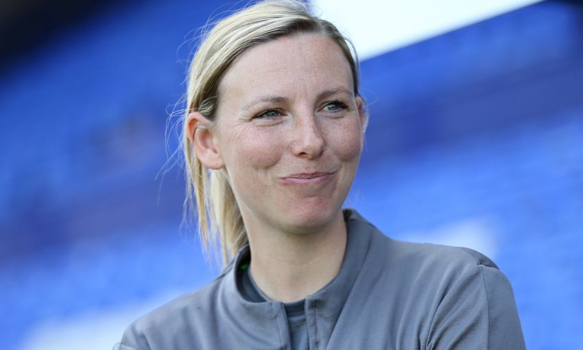 Liverpool FC Women manager Vicky Jepson