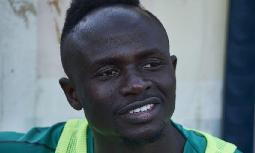 Sadio Mane with Senegal