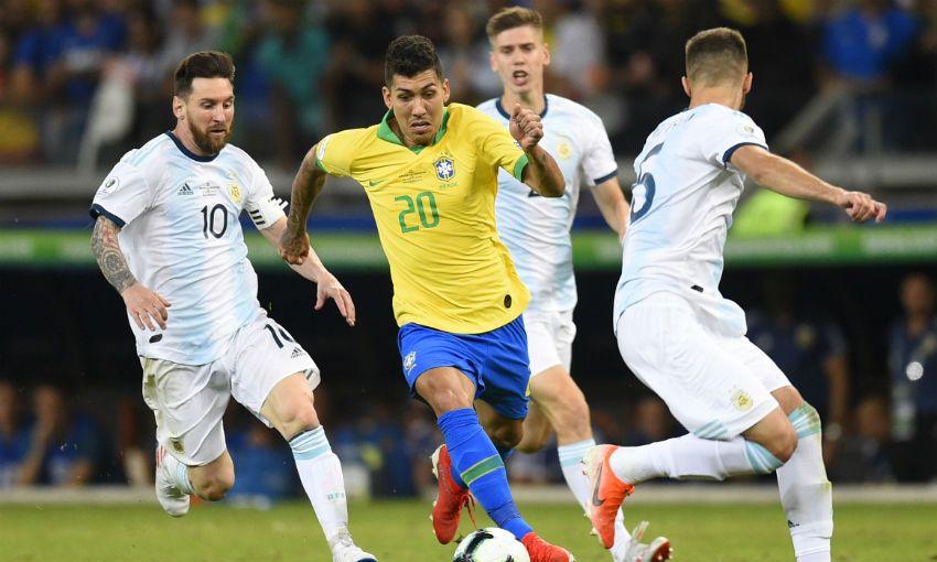 Roberto Firmino scores as Brazil reach Copa America final
