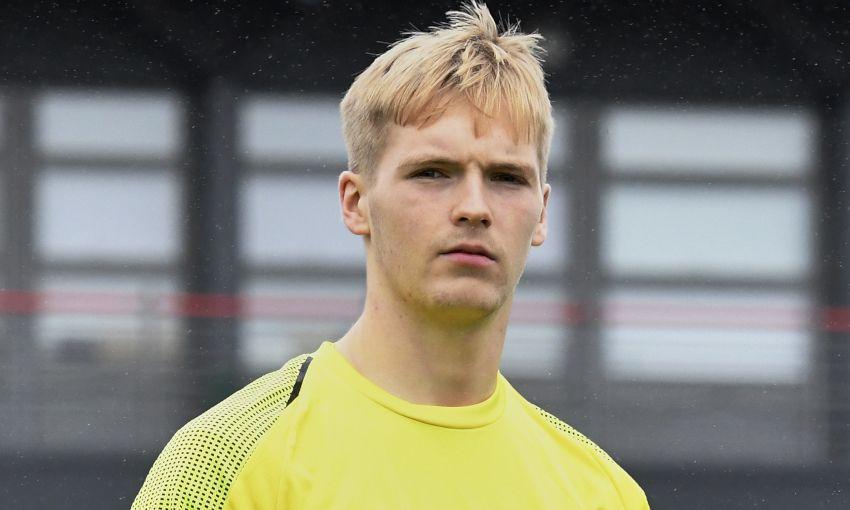 Liverpool goalkeeper Caoimhin Kelleher