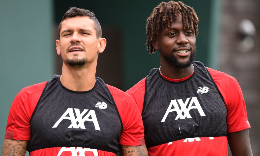 Divock Origi and Dejan Lovren