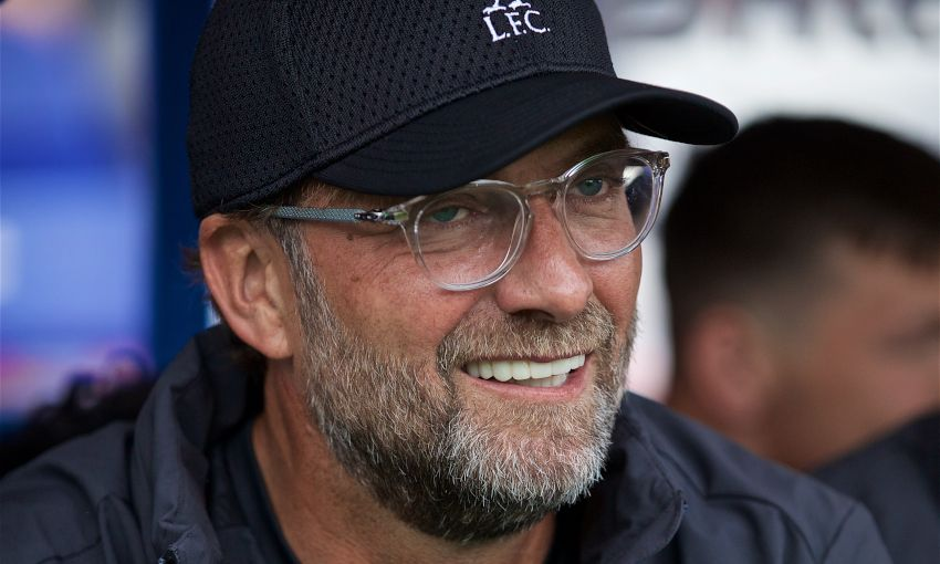 Jürgen Klopp watches on as Liverpool face Tranmere Rovers