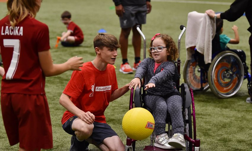 LFC's Impact Off The Pitch In The Community