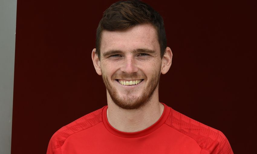 Andy Robertson returns to Melwood for pre-season