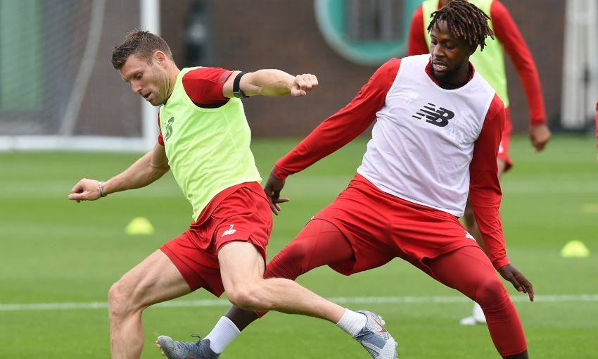 Liverpool pre-season training at Melwood, July 13