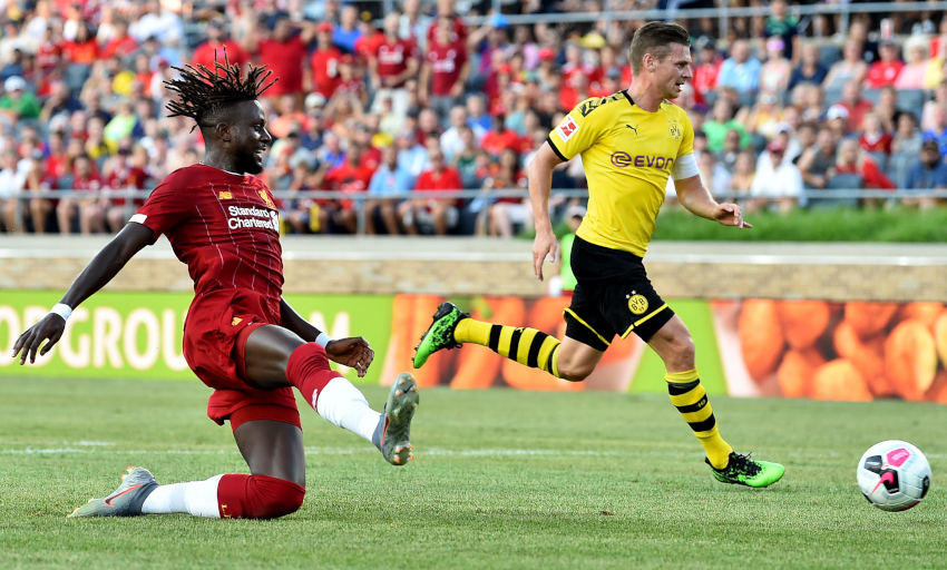 Borussia Dortmund winger Sancho: Liverpool right club for Brewster