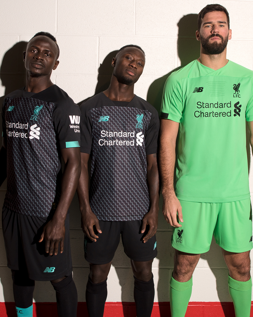 new arrival d40c4 848bf Photos: Liverpool players model new 2019-20 third kit ...
