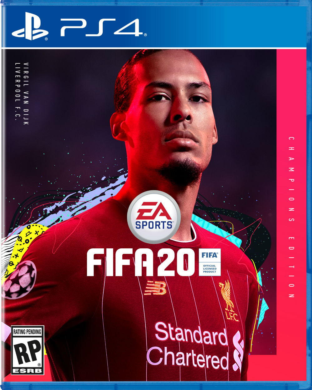 Virgil van Dijk to be EA SPORTS' FIFA 20 Champions Edition cover star -  Liverpool FC
