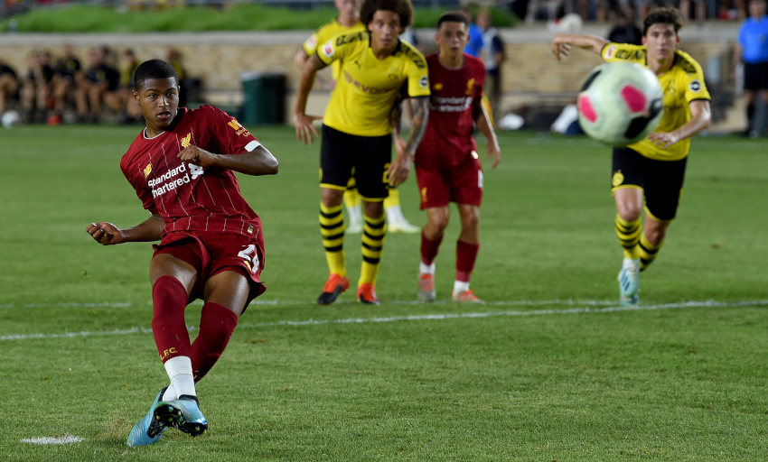 Dortmund sink Liverpool in USA tour opener