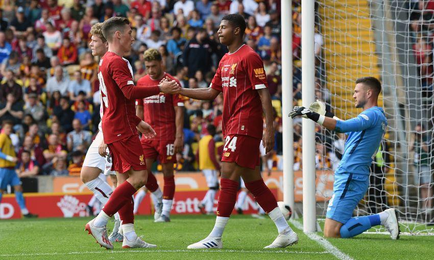 Bradford City v Liverpool