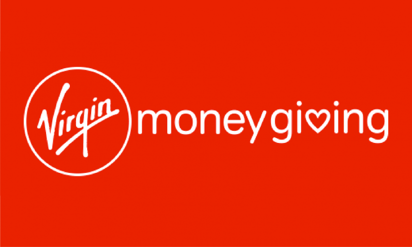 Start Virgin Money Giving fundraising