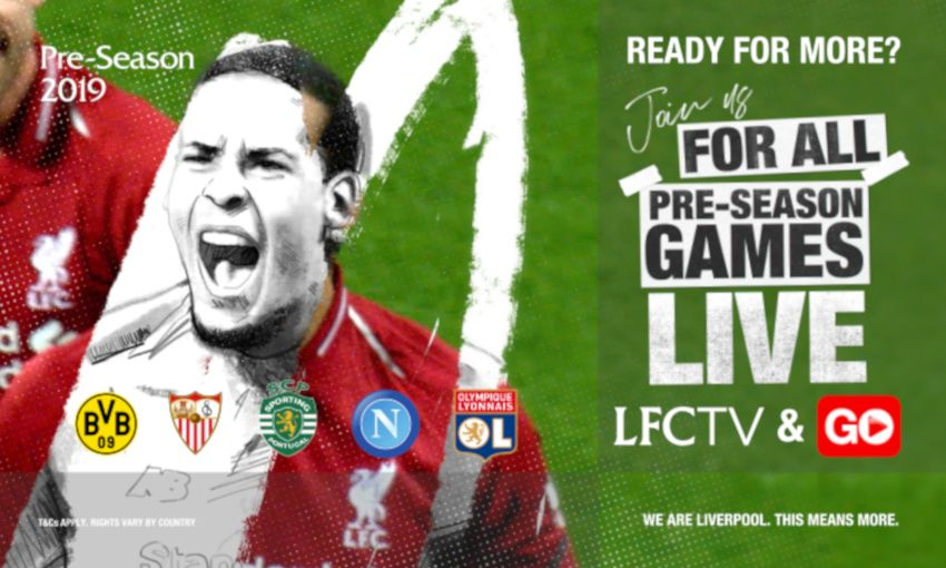 How to watch every Liverpool pre-season game live - Liverpool FC