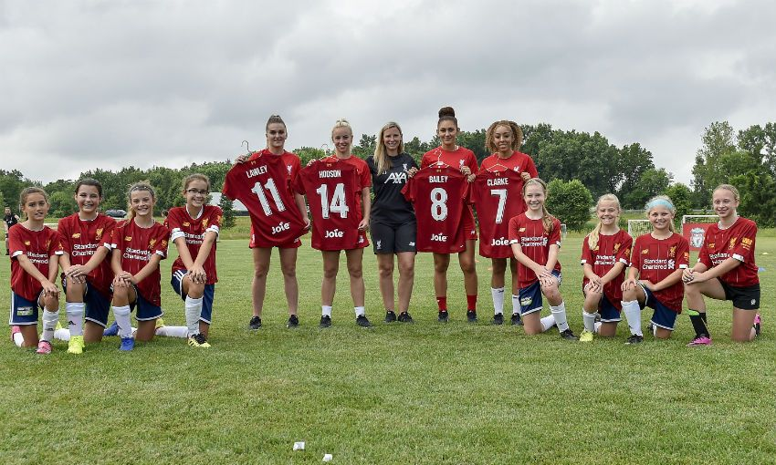 Liverpool FC Women and Joie partnership