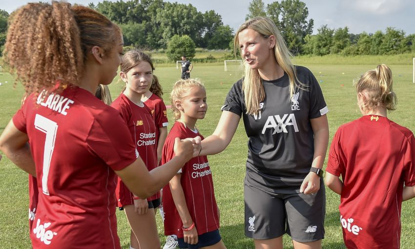 LFC Women and LFC Foundation host soccer clinic in South Bend