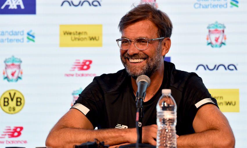 Jürgen Klopp at press conference