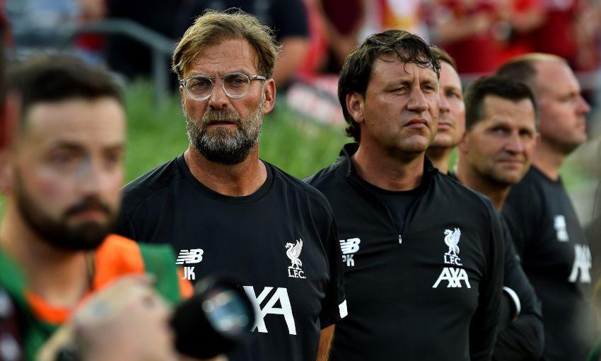 Liverpool v Borussia Dortmund in Indiana