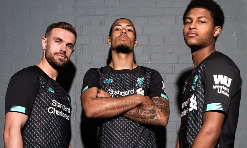 new product c6ae0 3b8a1 On sale now: Liverpool FC's new 2019-20 third kit revealed ...