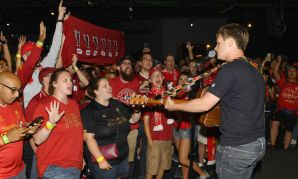 Liverpool fan event in South Bend