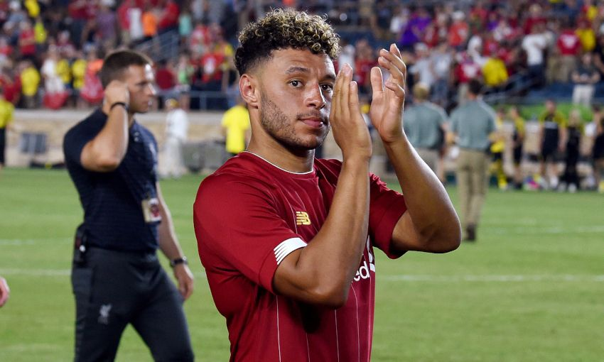 Alex Oxlade-Chamberlain on Liverpool's pre-season tour