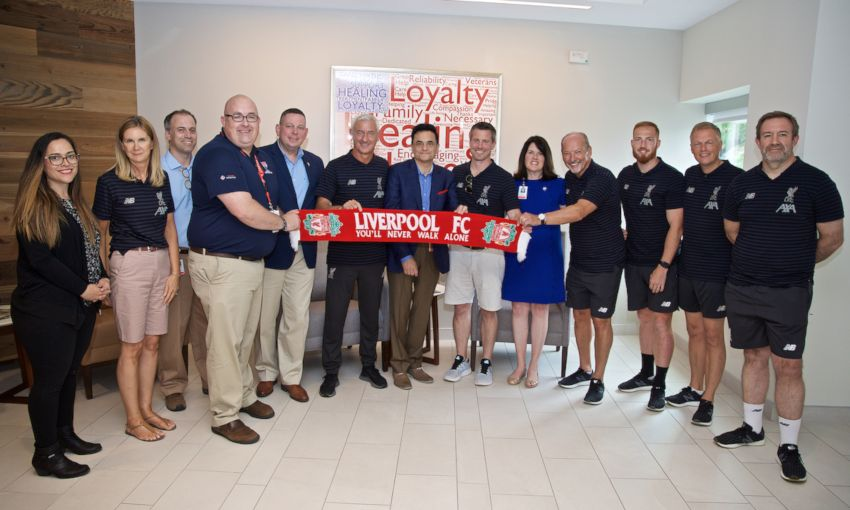 LFC Foundation visit Home Base in Boston