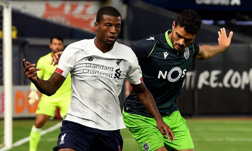 Liverpool v Sporting CP