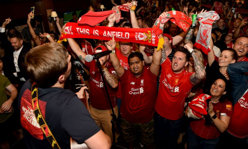 Liverpool fan event in New York