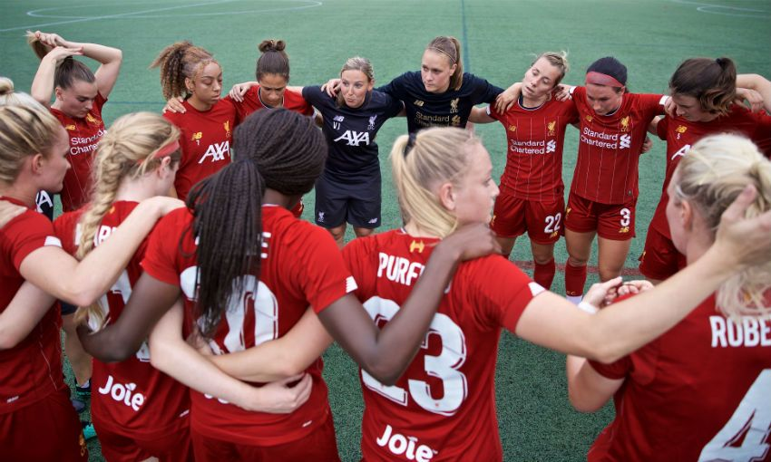 Liverpool FC Women on pre-season tour of USA