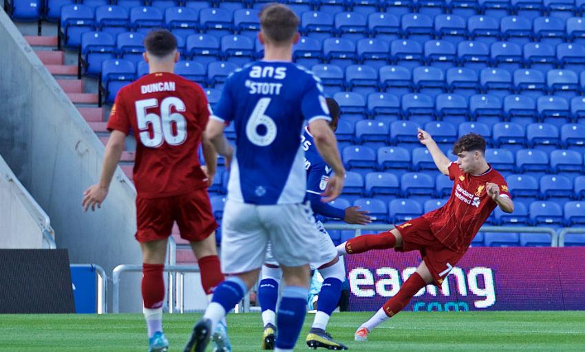 Match report: U21s beaten by Oldham in EFL Trophy opener - Liverpool FC