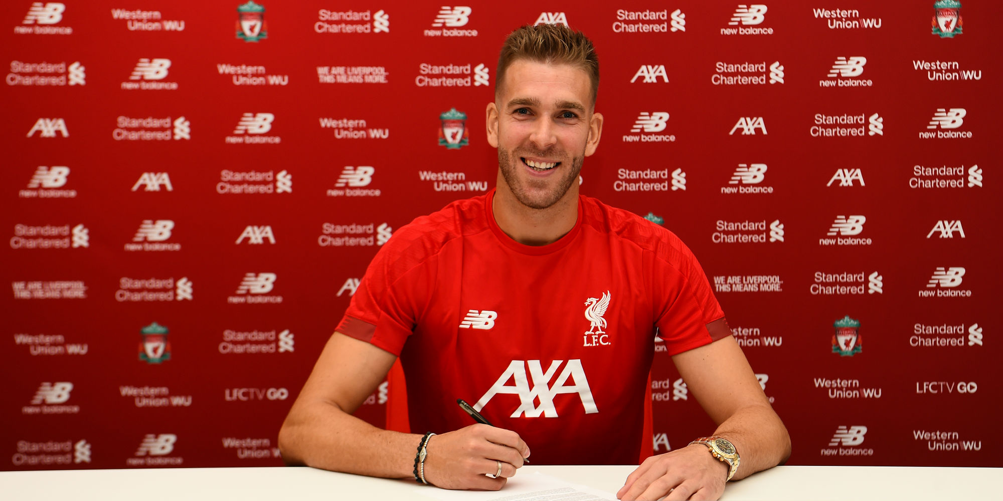 Liverpool sign Adrian as Mignolet bids farewell to fans