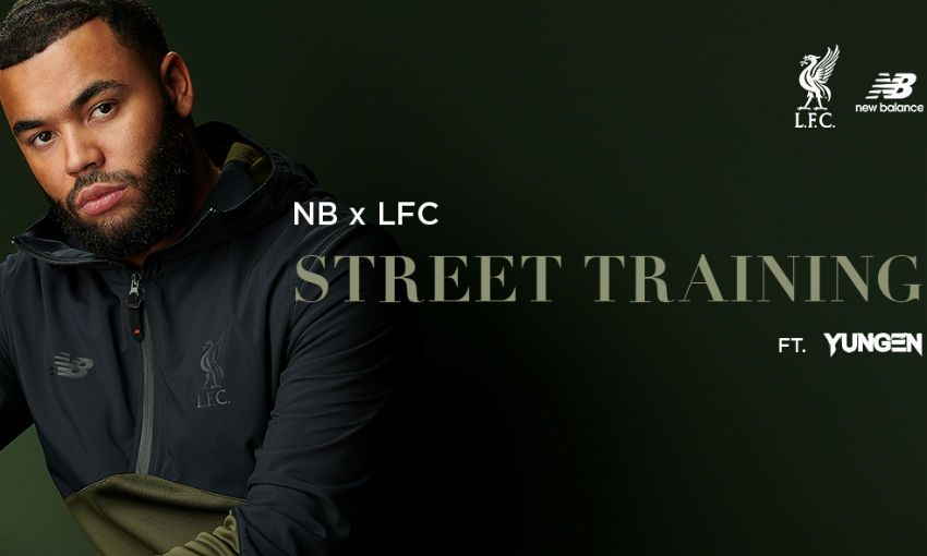 Yungen launches Liverpool FC x New Balance range