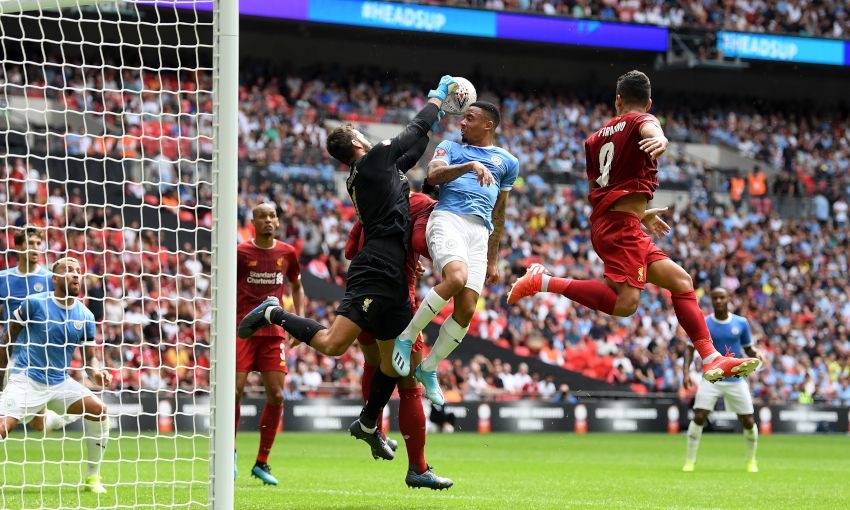 Liverpool v Manchester City, FA Community Shield