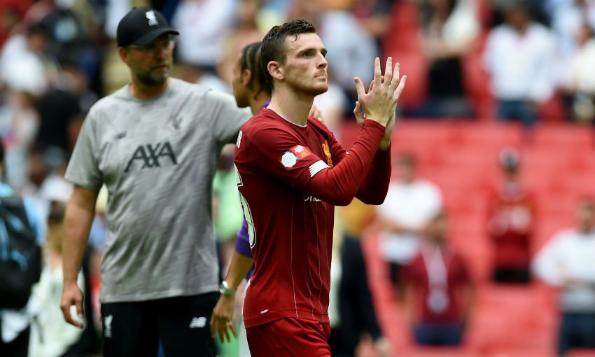 Andy Robertson Community Shield