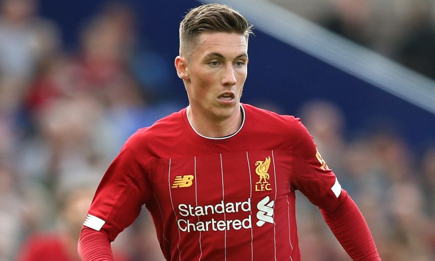 Harry Wilson in action for Liverpool
