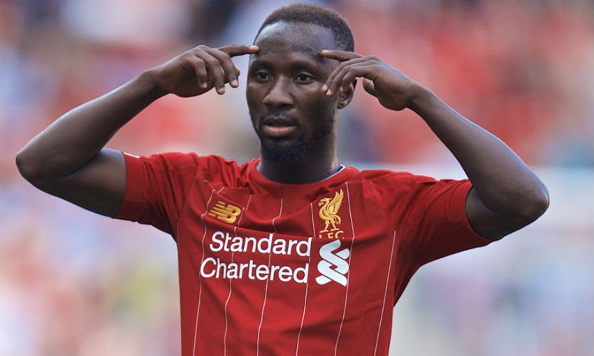 Naby Keita of Liverpool FC